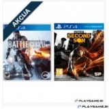 BATTLEFIELD 4 PS4 in INFAMOUS: SECOND SON PS4