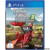 Farming Simulator 17 Platinum PS4