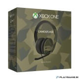 Xbox One Slušalke Microsoft Xbox One Stereo Headset M90 Armed Forces Camouflage - Limited Edition