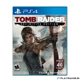 TOMB RAIDER - DEFINITIVE EDITION PS4 Rabljeno
