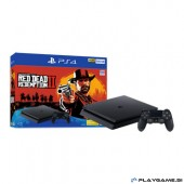 PS4 SLIM 500GB + RED DEAD REDEMPTION 2 36 MESEČNA GARANCIJA
