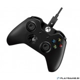 MICROSOFT XBOX ONE + PC WIRED CONTROLLER BLACK xbox one plošček+PC Sprejemnik