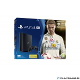 PlayStation 4 (PS4) PRO 1TB +FIFA 18+PlayGame paket 5x PS4 igre+36 MESEČNA GARANCIJA