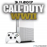 XBOX ONE S 500GB + CALL OF DUTY: WWII