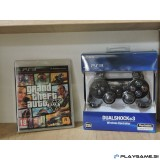 GTA 5 Grand Theft Auto 5 PS3 NOVO in NOV PS3 Dualshock kompatabilni plošček novo AKCIJA