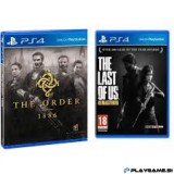 PS4 THE ORDER 1886 in The Last OF US PS4