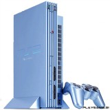 Playstation 2 Aqua Blue