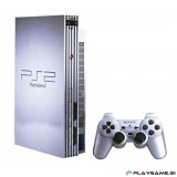 Playstation 2 Silver model