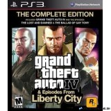 GRAND THEFT AUTO IV & EPISODES FROM THE LIBERTY CITY: THE COMPLETE EDITION PS3