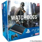 SONY PLAYSTATION 3 12GB+500GB +WATCH DOGS PS3