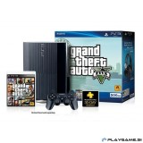 PS3 500GB SUPERSLIM+GTA5 GRAND THEFT AUTO 5