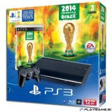 PS3 500GB ULTRASLIM SUPERSLIM 2014 FIFA WORLD CUP BRAZIL