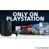 PLAYSTATION 4 (PS4) SLIM 500GB PLAYGAME PAKET 5X PS4 IGRE+36 mesečna garancija