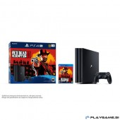 PS4 PRO 1TB + RED DEAD REDEMPTION 2+PG PAKET 5X PS4 IGRE