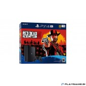 PS4 SLIM 500GB + RED DEAD REDEMPTION 2+PG PAKET 5X PS4 IGRE