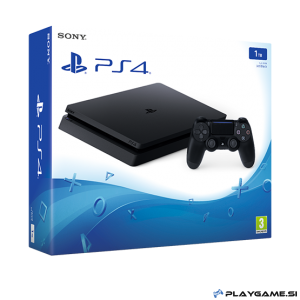 PS4 1000GB 1TB MINI SLIM+5X IGRE PS4+Playgame paket za 250EUR PS4 IGER!