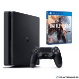 PLAYSTATION 4 SLIM 1000GB + BATTLEFIELD 1  + 36 MESEČNA GARANCIJA