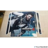 PS4 SKIN nalepka UNCHARTED 4: A THIEF'S END  v1