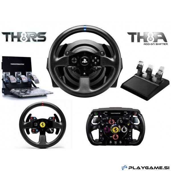thrustmaster t300 rs racing wheel ps4 ps3. Black Bedroom Furniture Sets. Home Design Ideas