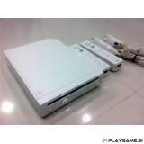 Wii bele barve 2x remote kontroler, 2x nunchuk kontroler, oprema 5x igre, 6 mesečna garancija