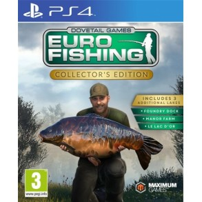 Euro Fishing: Collector's Edition (PS4)