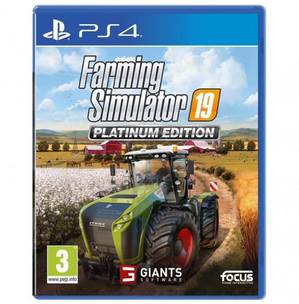 Farming Simulator 19 Platinum Edition PS4