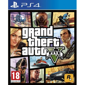 GTA 5 GRAND THEFT AUTO 5 (PS4 )
