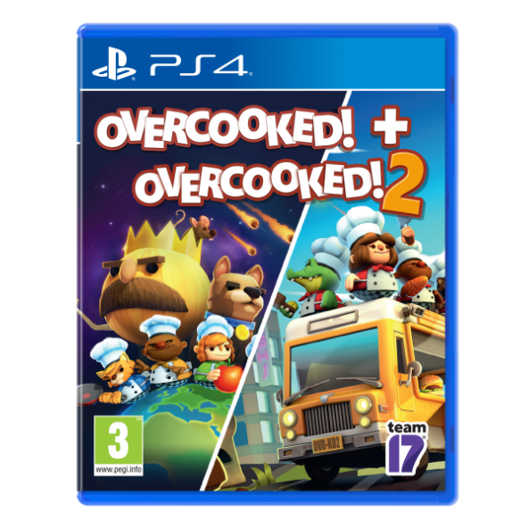 PS4 Overcooked+Overcooked 2 - Double Pack (PS4)