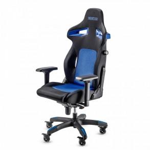 SPARCO STINT gaming stol črno - modre barve