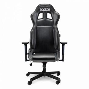 SPARCO STINT gaming stol črne barve