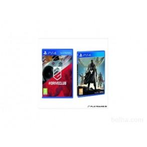 DriveClub+Destiny PS4 Dve igri v paketu