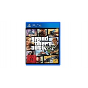 GTA 5 GRAND THEFT AUTO 5 Premium Edition PS4 Rabljena