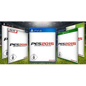 PES 2015 Pro Evolution Soccer 2015 PS4