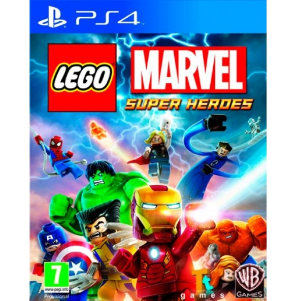 LEGO Marvel Super Heroes PS4 Rabljena
