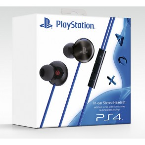 Slušalke PS4 SONY IN-EAR STEREO HEADSET