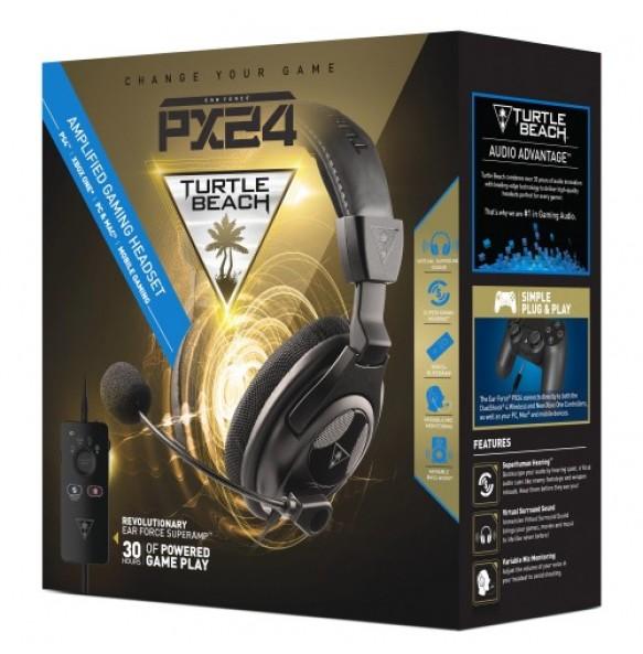 Slušalke Turtle Beach Ear Force PX24 Headset  PS4, Xbox One  PC