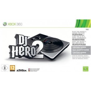 DJ Hero 2 Party Bundle for Xbox 360+2 igri DJ Heo1 in 2