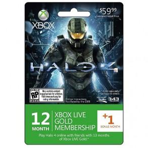 12 mesečna Live xbox 360 xbox one naročnina UK, ter HALO4 igra+1mesec live gratis