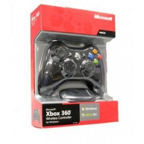 Xbox 360 brezžični kontroler in Sprejemnik za PC, črn