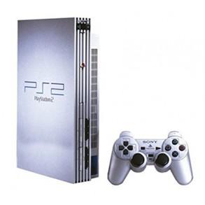 Playstation 2 Silver model