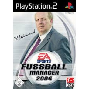 Fussball manager 2004 PS2