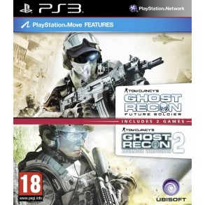 Tom Clancy's Ghost Recon Future Soldier&Advanced Warfighter 2 PS3