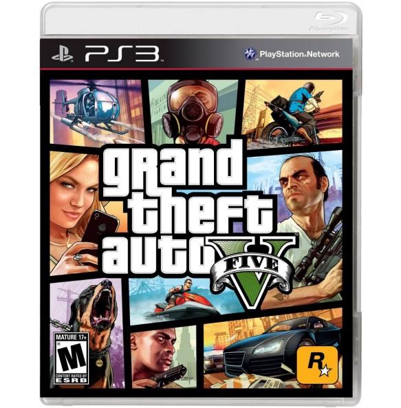 Grand Theft Auto 5 PS3 GTA 5