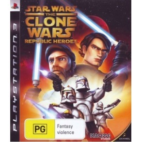 Star Wars: The Clone Wars  Republic Heroes PS3
