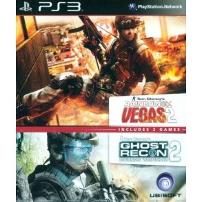 Tom Clancy's Rainbow Six Vegas / Ghost Recon: Advanced Warfighter 2 PS3