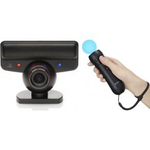 PS3 EYE TOY kamera+MOVE