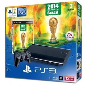 PS3 500GB ULTRASLIM SUPERSLIM 2014 FIFA WORLD CUP BRAZIL
