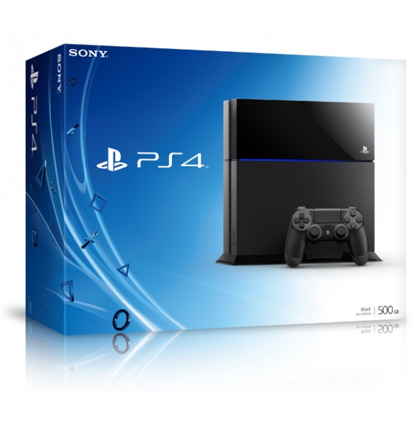 PLAYSTATION 4 500GB 2k14 model