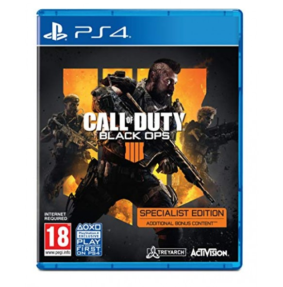 Call of Duty: Black Ops 4 - Specialist Edition PS4