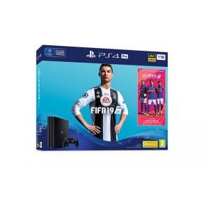 PLAYSTATION 4 PRO 1TB FIFA 19 +PG 5X PS4 IGRE